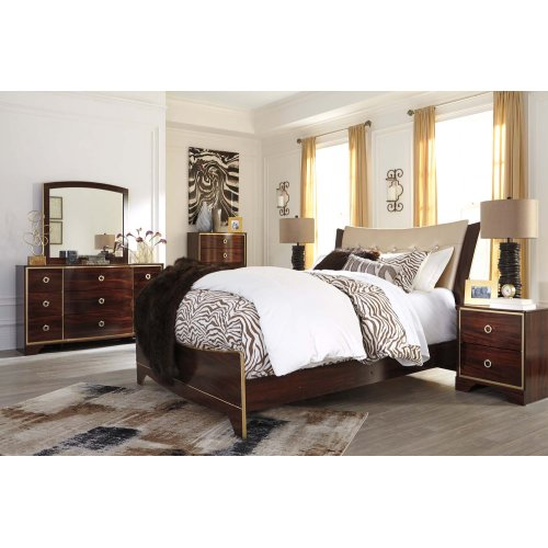Lenmara - Reddish Brown 2 Piece Bedroom Set