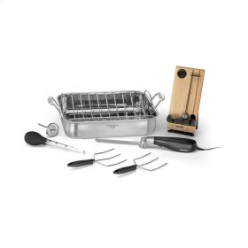 """16"""" Roaster Pan with Removable Rack Option 1"""