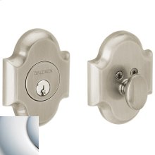 Polished Chrome Arched Deadbolt