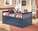 Leo - Blue 4 Piece Bed Set (Twin) Product Image