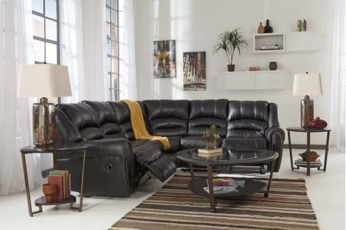 Manzanola - Black 2 Piece Sectional