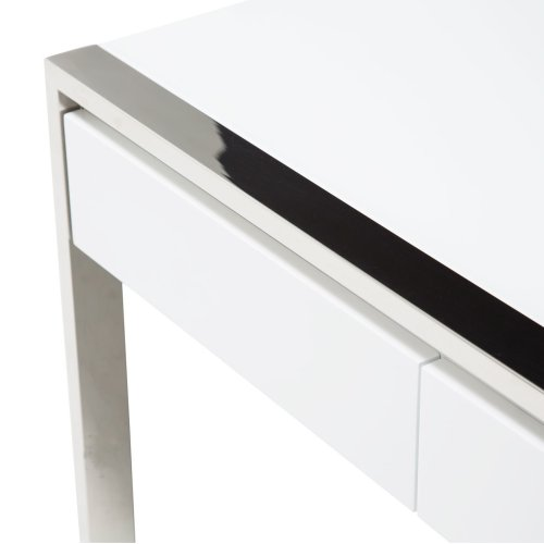 Writing Desk Glossy White