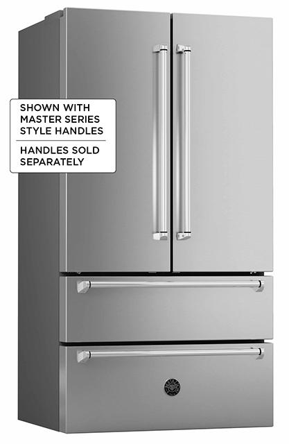 """Bertazzoni36"""" French Door Refrigerator - Freestanding - Stainless"""