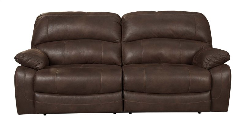 2 Seat Reclining Sofa Furniture Link Bailey Leather 2
