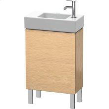 Vanity Unit Floorstanding, Brushed Oak (real Wood Veneer)
