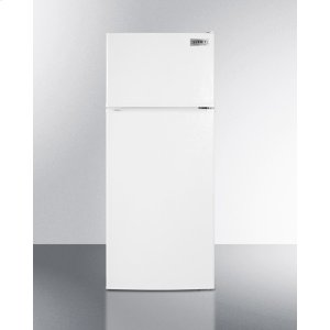 ADA Compliant Frost-free Refrigerator-freezer In White With Icemaker -