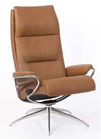 Stressless Tokyo High Back Star Base Chair and Ottoman Product Image