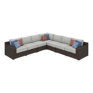Ashley Furniture Alta Grande - Beige/brown 4 Piece Patio Set