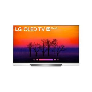 LG ElectronicsE8PUA 4K HDR Smart OLED TV w/ AI ThinQ® - 55'' Class (54.6'' Diag)