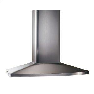 BroanBroan® 35-7/16-Inch X 27-9/16-Inch Convertible Island Chimney Range Hood, 480 CFM, Stainless Steel
