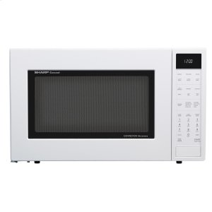 Sharp1.5 cu. ft. 900W Sharp White Carousel Convection + Microwave Oven
