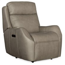 Living Room Sandovol Power Recliner w/ Power Headrest
