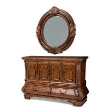 Tuscano Sideboard & Mirror Melange