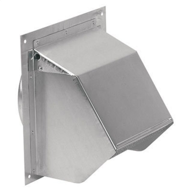 """Broan Wall Cap for 6"""" Round Duct for Range Hoods and Bath Ventilation Fans"""