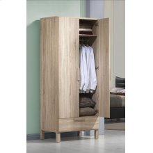 ODELLA LIGHT OAK WARDROBE