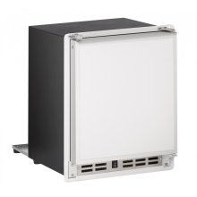 """Marine Series 15"""" Marine Crescent Ice Maker With White Solid Finish and Field Reversible Door Swing (115 Volts / 60 Hz)"""