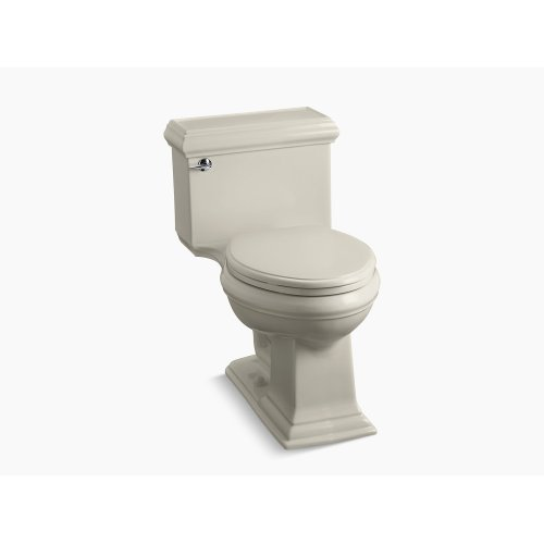 Sandbar Comfort Height One-piece Elongated 1.28 Gpf Toilet With Aquapiston Flushing Technology and Left-hand Trip Lever