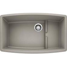 Blanco Performa Cascade Super Single Bowl - Concrete Gray