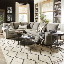 Straw Alexander Large L-Shaped Sectional