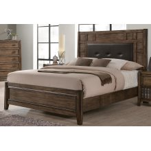 Englewood King Upholstered Panel Bed