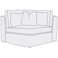 Como Corner Chair
