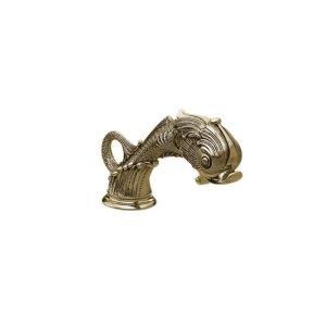 DOLPHIN Deck Tub Spout K5103 - Satin Brass