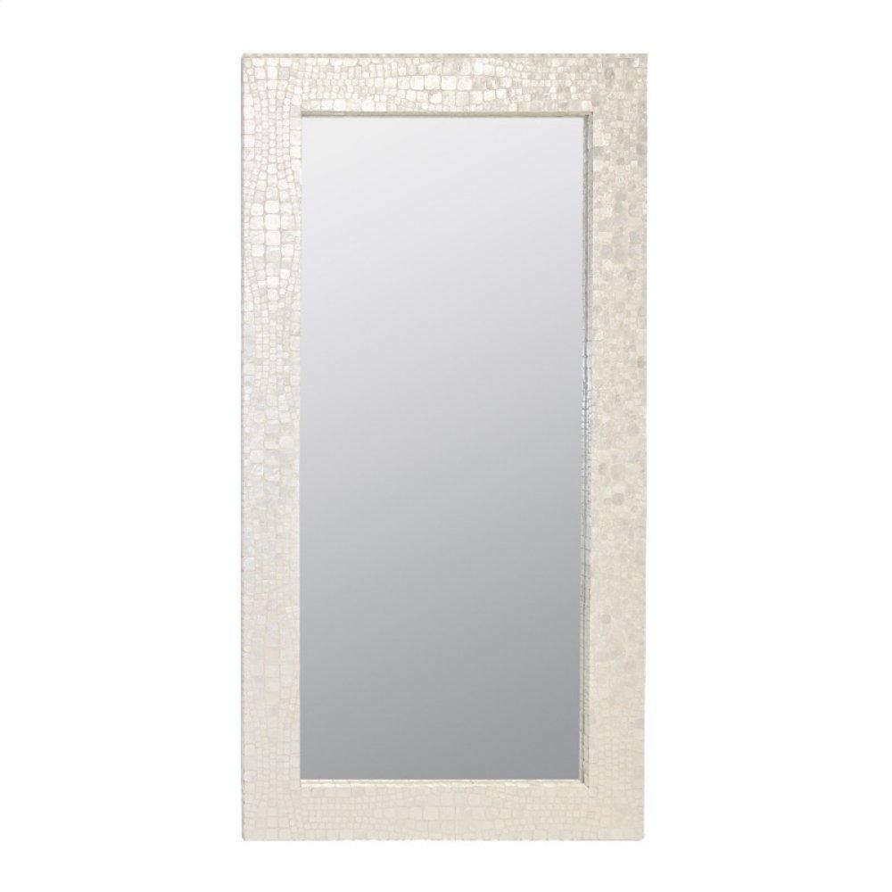 Croc Pattern Floor Mirror