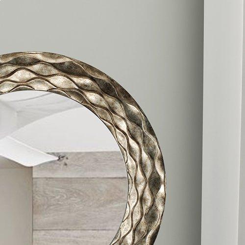 Round Waves Mirror