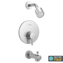 Serin Bathtub and Shower Trim with Pressure Balance Cartridge  American Standard - Polished Chrome