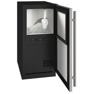 "U-LineAnb115 / Anp115 15"" Nugget Ice Machine With Stainless Solid Finish, Yes (115 V/60 Hz Volts /60 Hz Hz)"