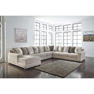 Ashley Furniture Ardsley - Pewter 5 Piece Sectional