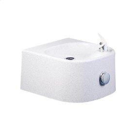 Elkay Soft Sides Single Composite Fountain Non-Filtered, Non-Refrigerated White Granite Composite