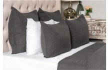 Cressida Charcoal 3Pc Queen Set