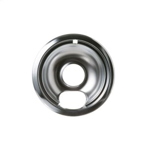 GE6 inch Chrome Drip Pan and Ring