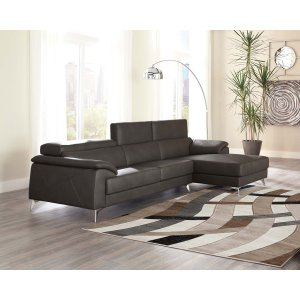 Ashley Furniture Tindell - Gray 2 Piece Sectional