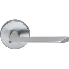 Interior Modern Lever Latchset in (US26D Satin Chrome Plated)
