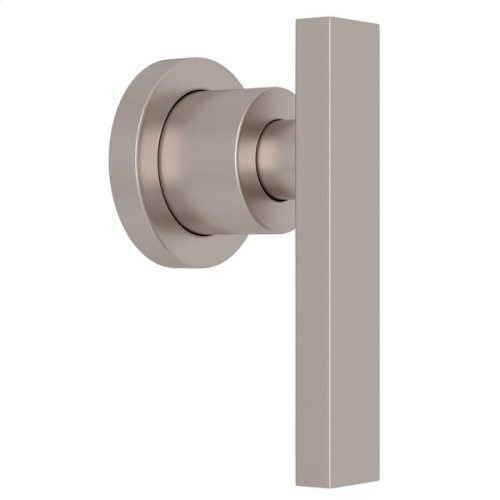 "Satin Nickel Pirellone 3/4"" Volume Control Trim with Metal Lever"