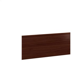 Bdi FurnitureDesk Return Back Panel 6009 in Chocolate Stained Walnut