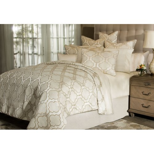 10pc King Comforter Set Pearl