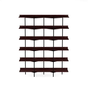 Bdi FurnitureShelving System 5306 in Charcoal Stained Ash Black