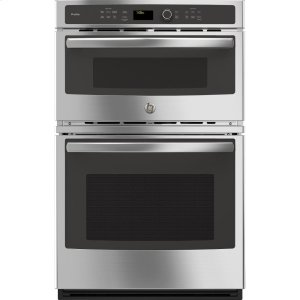 "GE Profile27"" Built-In Combination Convection Microwave/Convection Wall Oven"