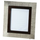 This distinctive picture frame is certain to be the finishing touch in your space. Featuring finish, it is hand crafted from mango wood solids, aluminum. Product Image