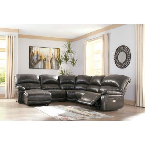 Ashley Furniture Hallstrung - Gray 5 Piece Sectional