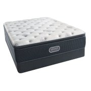 BeautyRest - Silver - Open Seas - Pillow Top - Plush - Queen Product Image