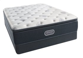 BeautyRest - Silver - Sea Glass - Pillow Top - Plush - Twin
