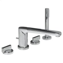 Moments Deck-Mount Bathtub Faucet - Polished Chrome