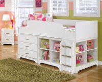 Lulu - White 5 Piece Bedroom Set Product Image