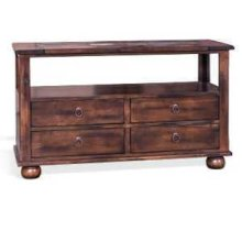 Santa Fe Sofa Table w/ Drawers
