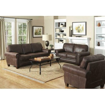 Allingham Traditional Brown Chair