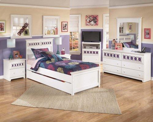 Zayley - White 3 Piece Bed Set (Twin)